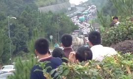 国庆第一日:堵在路上