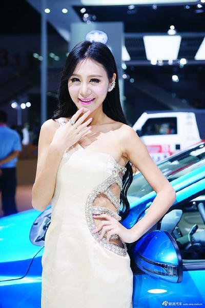 2014广州车展高清模特图:第一季(组图)