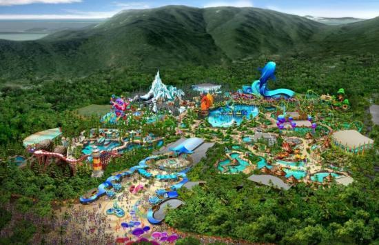《南华早报》12月28日文章,原题:中国的众多主题公园,比如位于横琴的图片