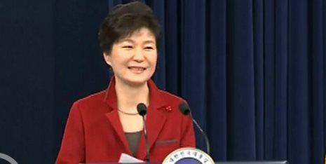 据新华社电韩国总统朴槿惠12日在新年记者会上说,她愿与朝鲜最高领